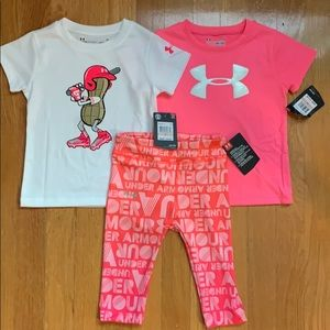 UNDER ARMOUR Toddler Girls 2T NWT